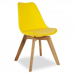 Eames Dining Chair (yellow)