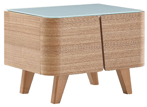 Boxy Bedside Table