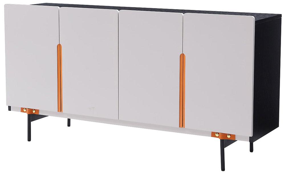 Orange Side Cabinet