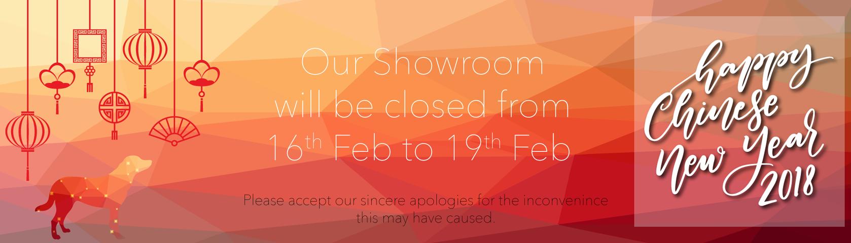 Chinese New Year Closing