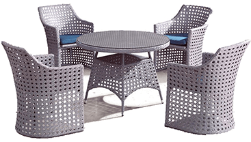 Champie Outdoor Table Set