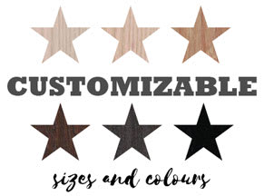 Customizable Sizes and Colours