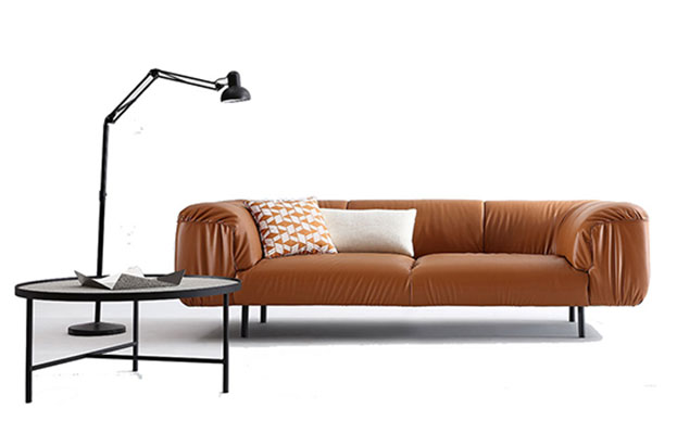 Amiee Leather Sofa