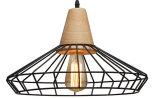Wire Barn Lamp