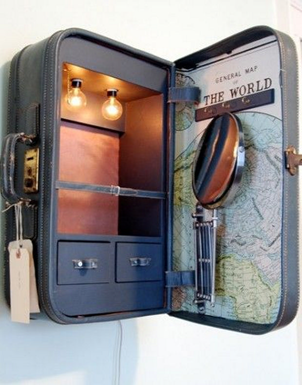 suitcase medical cabinet