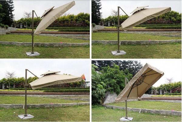 Angle umbrella