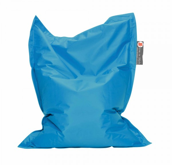 blue kids beanbag